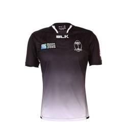 Fiji jersey black front